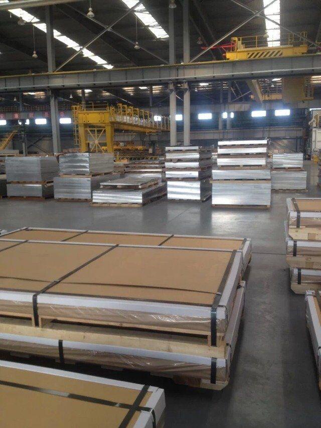 5052 H32 Alulminum Plate in Super Width