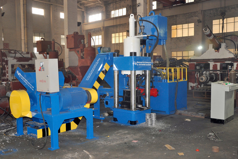 Y83-2500 Aluminum Press Metal Powder Briquette Machine