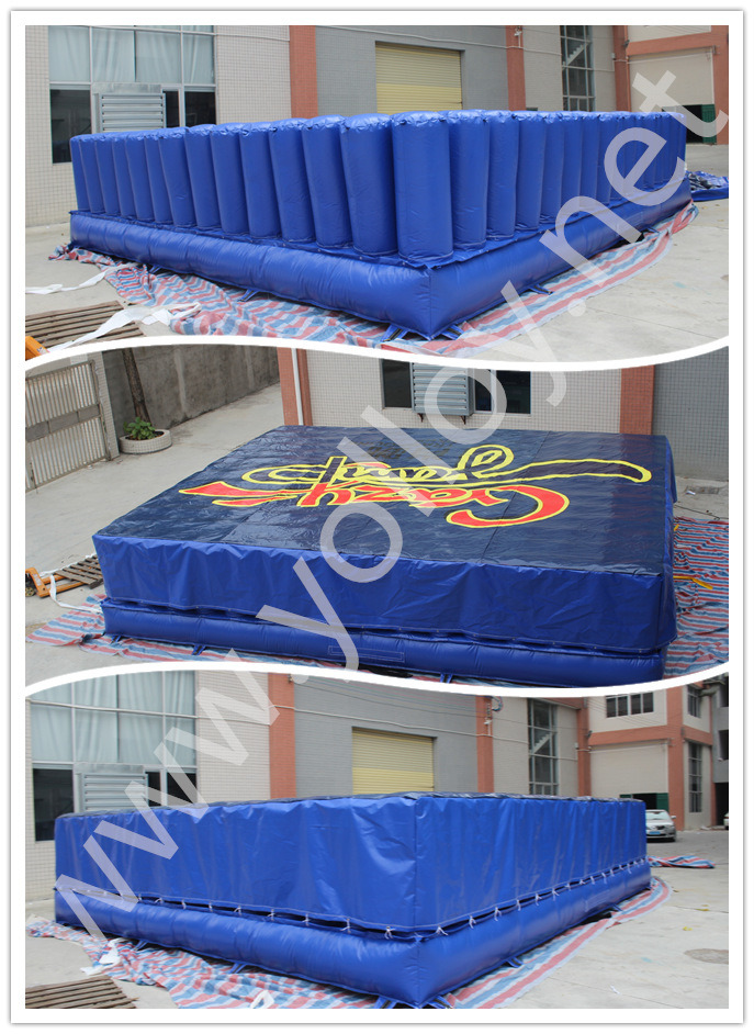 Free Fall Inflatable Stunt Air Bag for Inflatable Jump Game