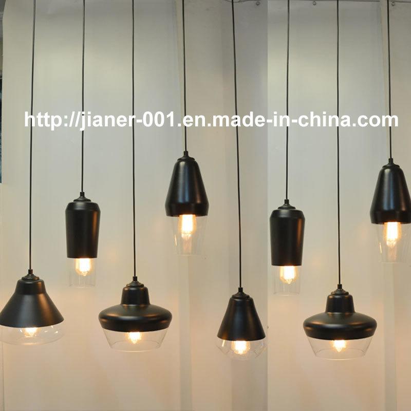Adjustable DIY Glass Pendant Lamp for Hotel /Restaurant/ Dining Room