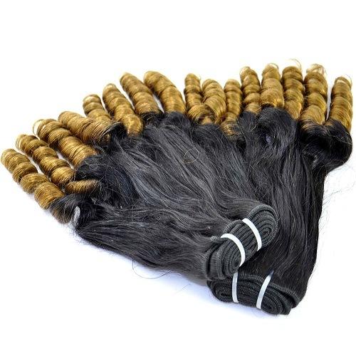 Labor Hair 100% Human Ombre Hair Extensions Hair Weave