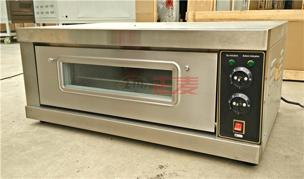 Luxury Electric Single Deck Baking 1 Layer and 1 Tray Electric Deck Oven (ZBB-101D)