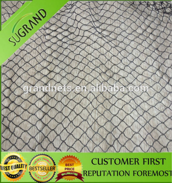 100% Virgin Plastic Knitted Extrude Strong Anti Bird Net