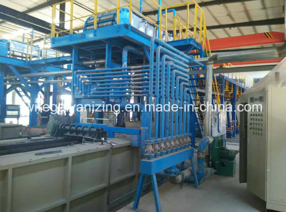 High DV Steel Wire Hot DIP Galvanizing Machine with Ce Certified