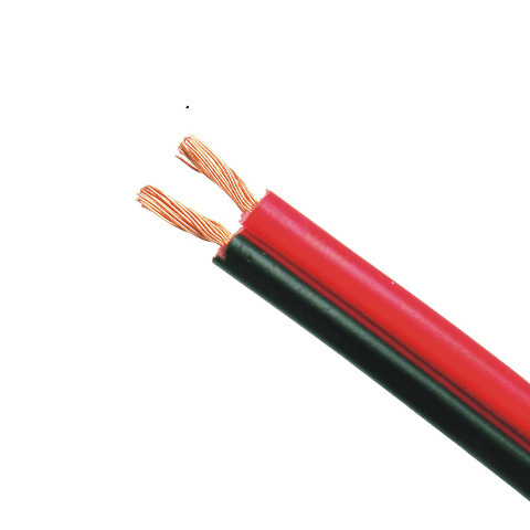 Rvb 2 Core Red and Black Power Cable with Twin Lines