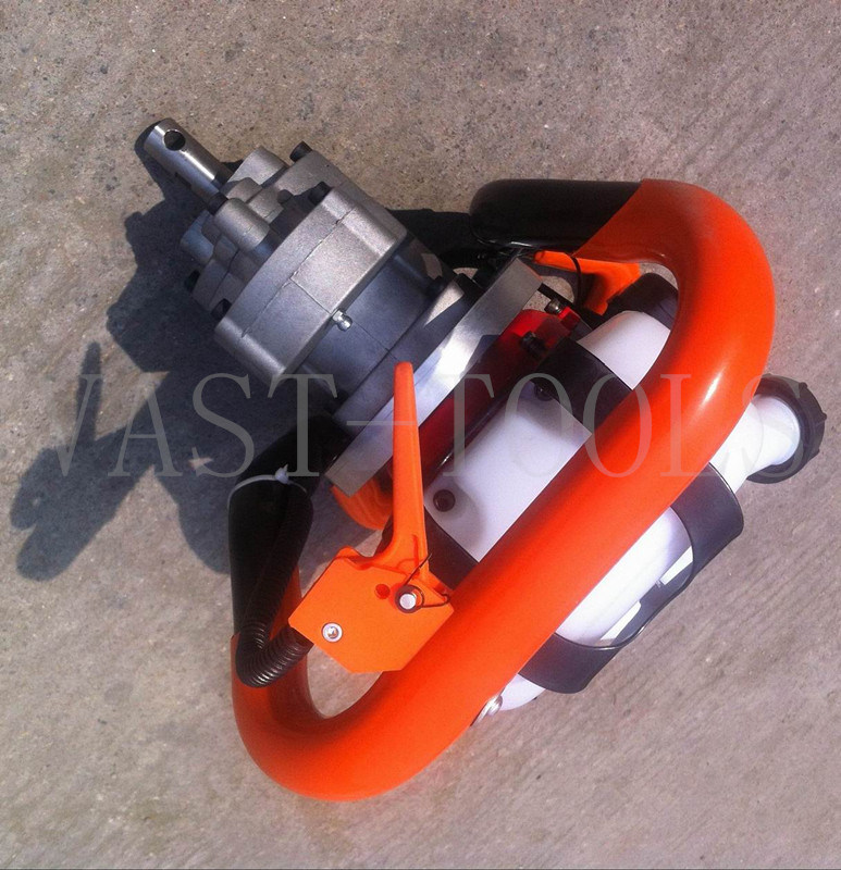 1e34f Engine 26cc Ice Drill Auger, Lightest Ice Driller Auger Machine