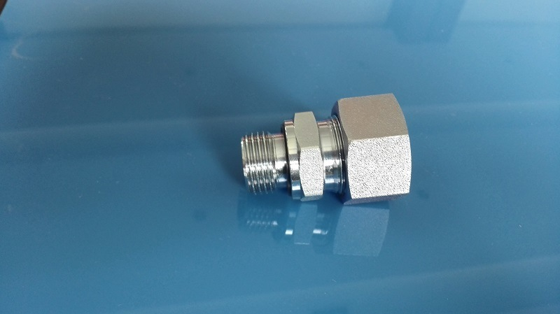 DIN Bite Type Tube Fitting/Bsp Male Captive Seal (1CB-WD)