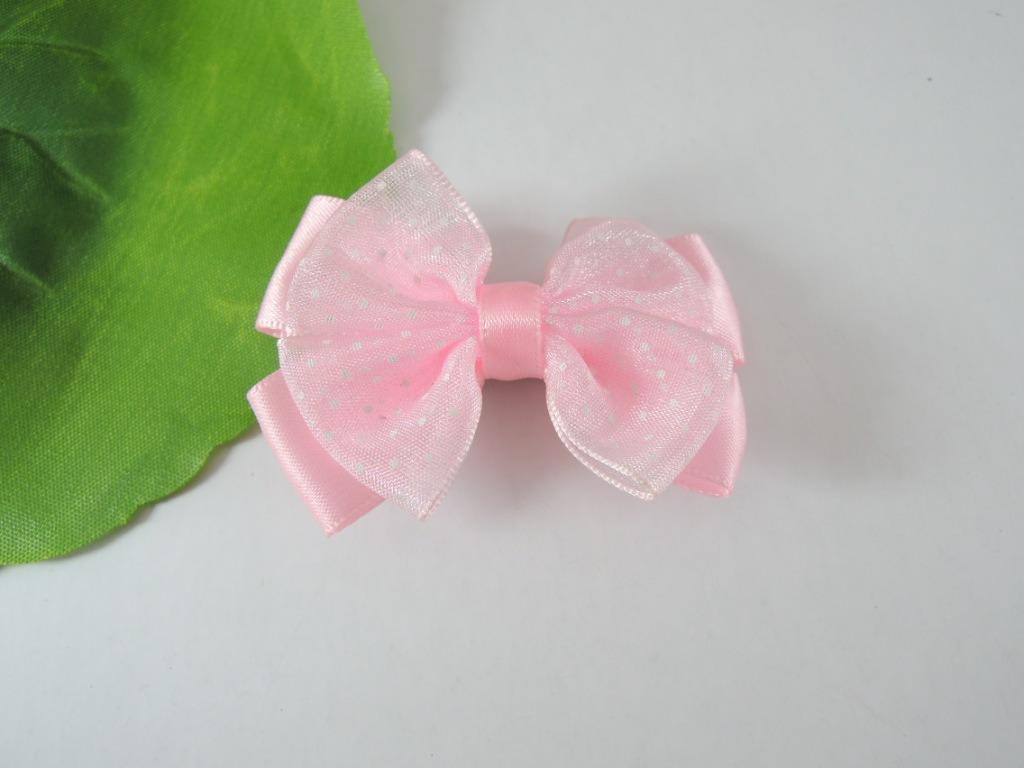 Handmade Mini Bowknot Hair Accessories