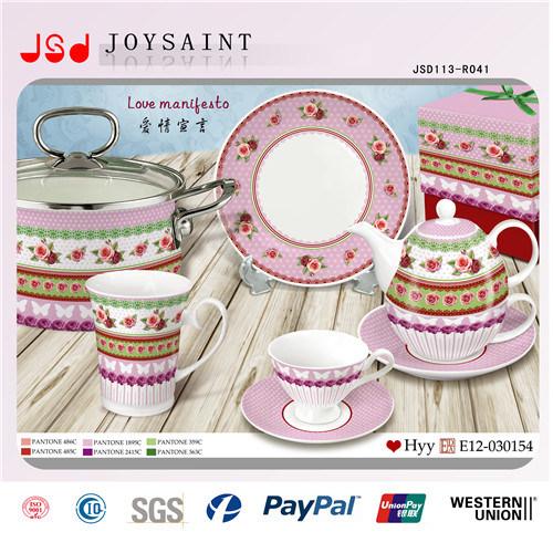 Lovely Children Porcelain Dinner Set