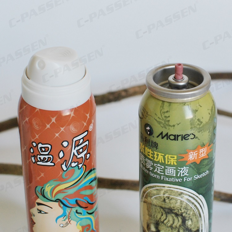 Aluminum Hair Shaping Spray Aerosol Can with Offset Printing (PPC-AAC-002)
