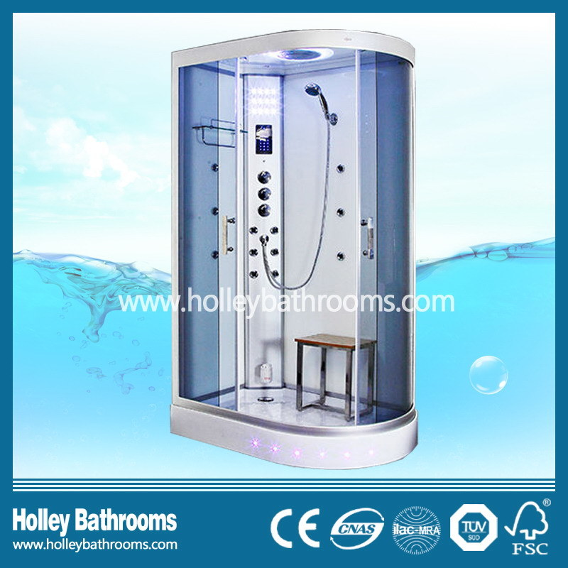 New Design Computerized Shower Cabin with Double Roller Wheel (SR115M)