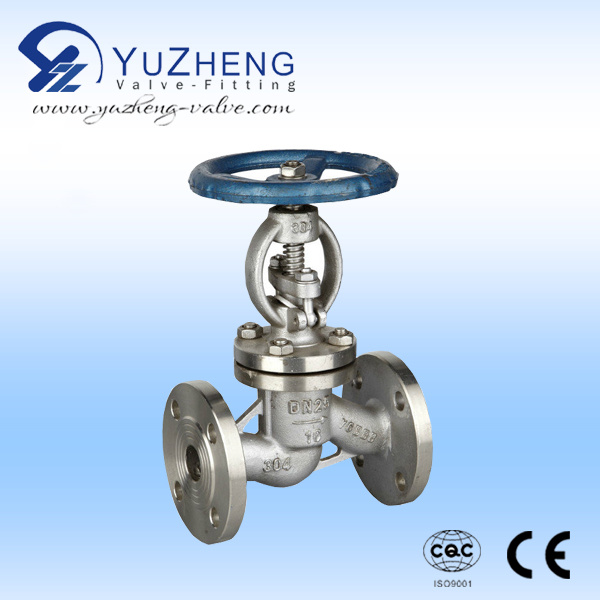 Stainless Steel 316/304 Flanged Globe Valve