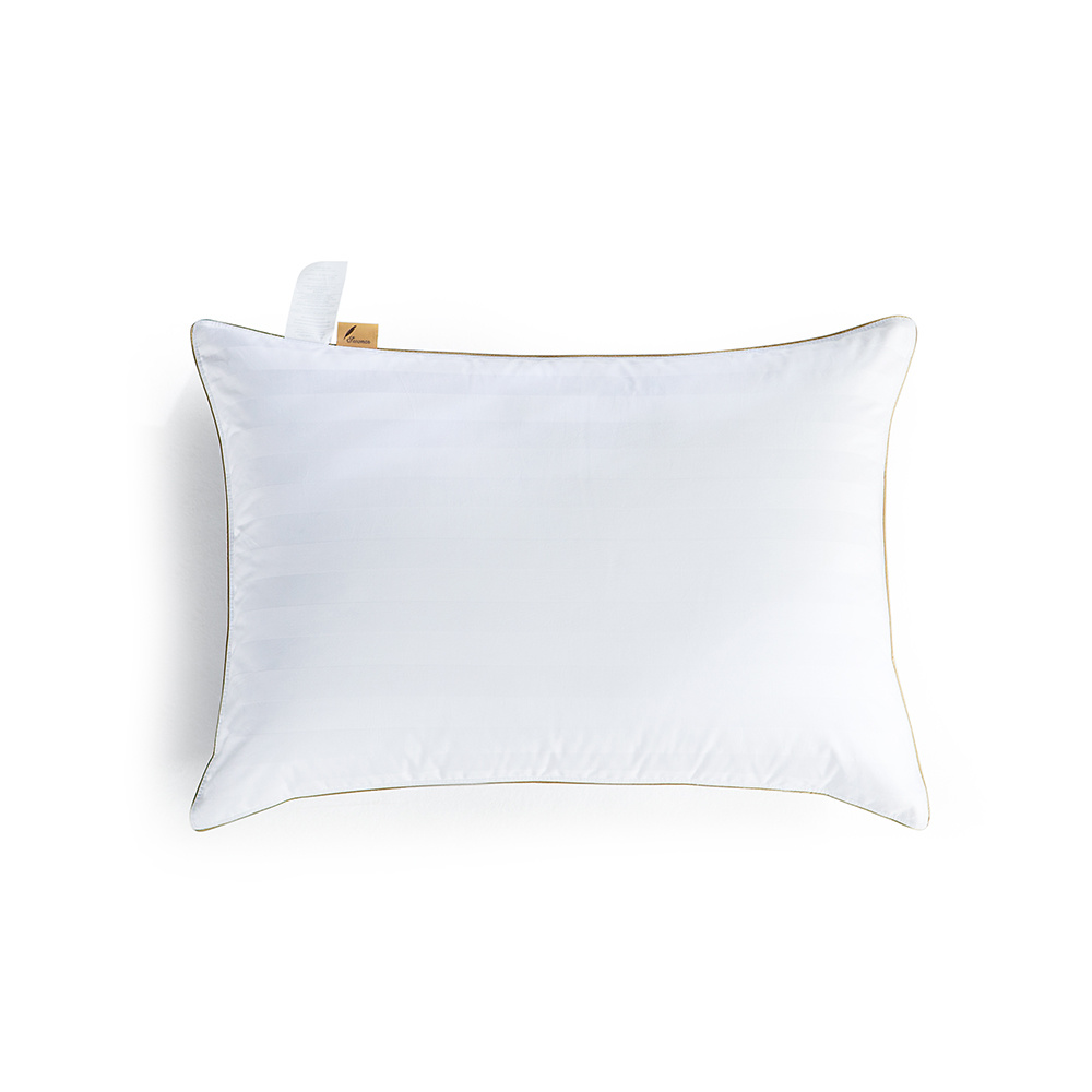 Soft Filling White Goose Down Pillow for Home
