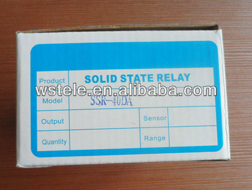 40A DC to AC Solid State Relay with CE (SSR-40DA)