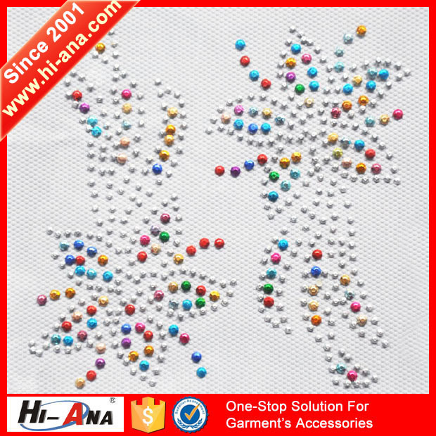 Our Factories 20 Years′experience Various Colors Rhinestone Hotfix Transfer