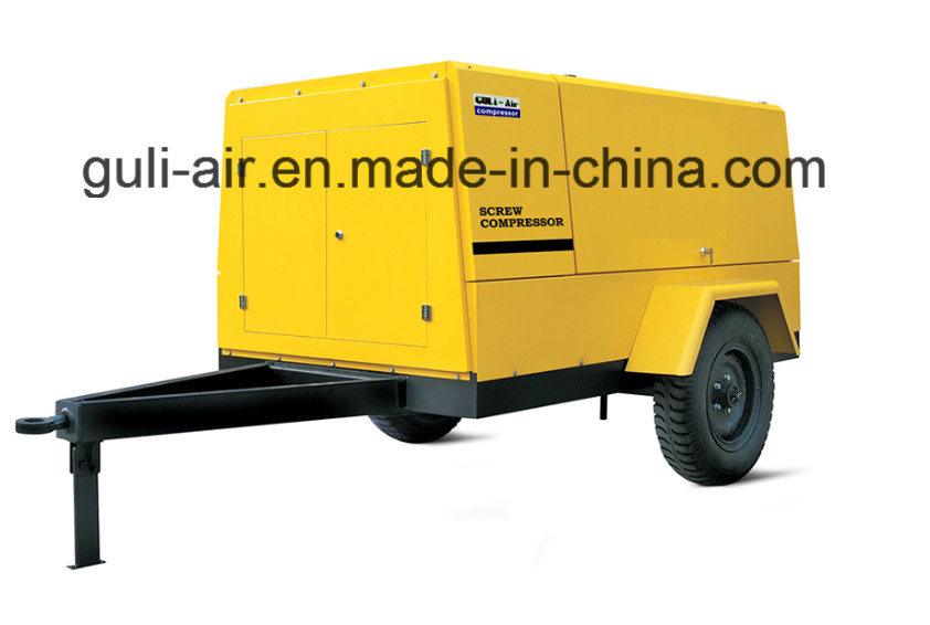 High Quality Electric Driven Portable Screw Air Compressors