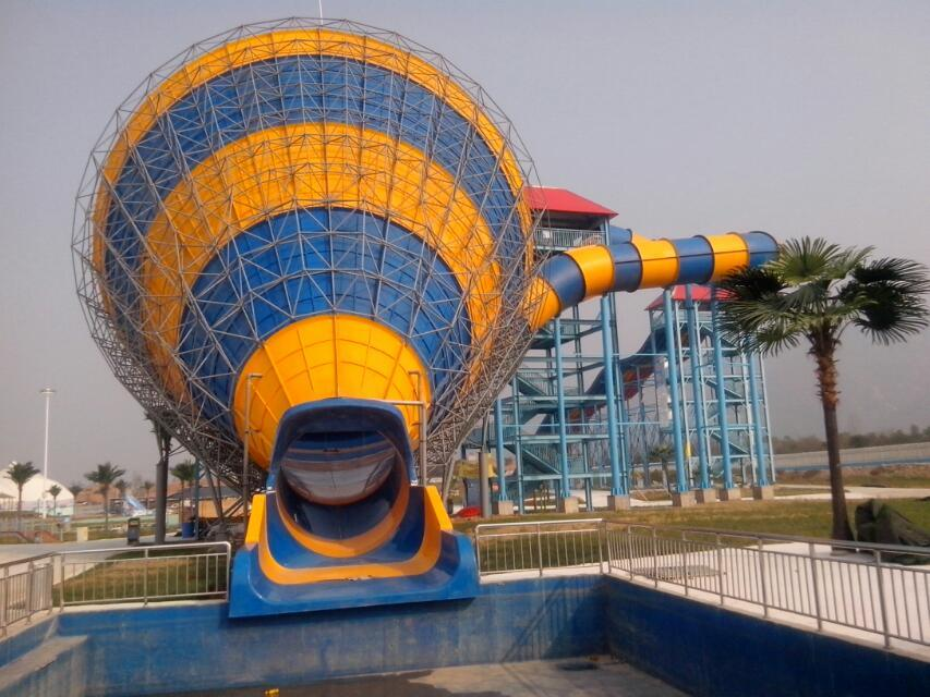 Medium Tornado, Special Fiberglass Water Slide for Water Park