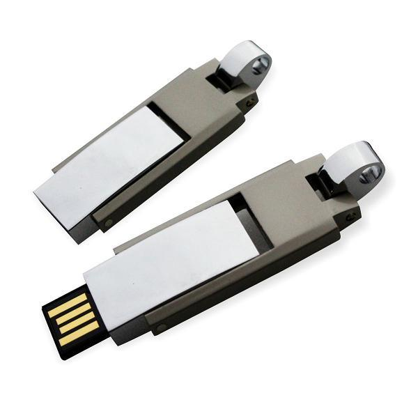 Metal USB Flash Drive, USB Stick Disk (M-01B)
