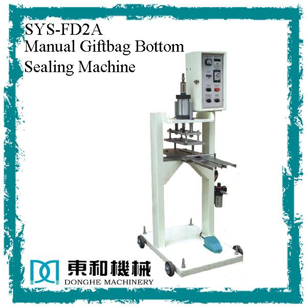 Manual Giftbag Bottom Sealing Machine