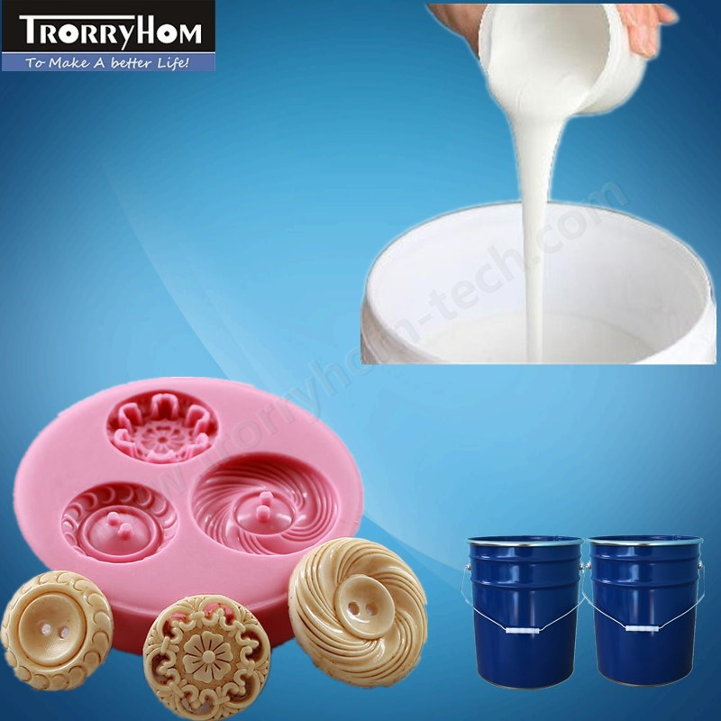 White Low Viscosity Silicone Mold Rubbers for Resin Crafts