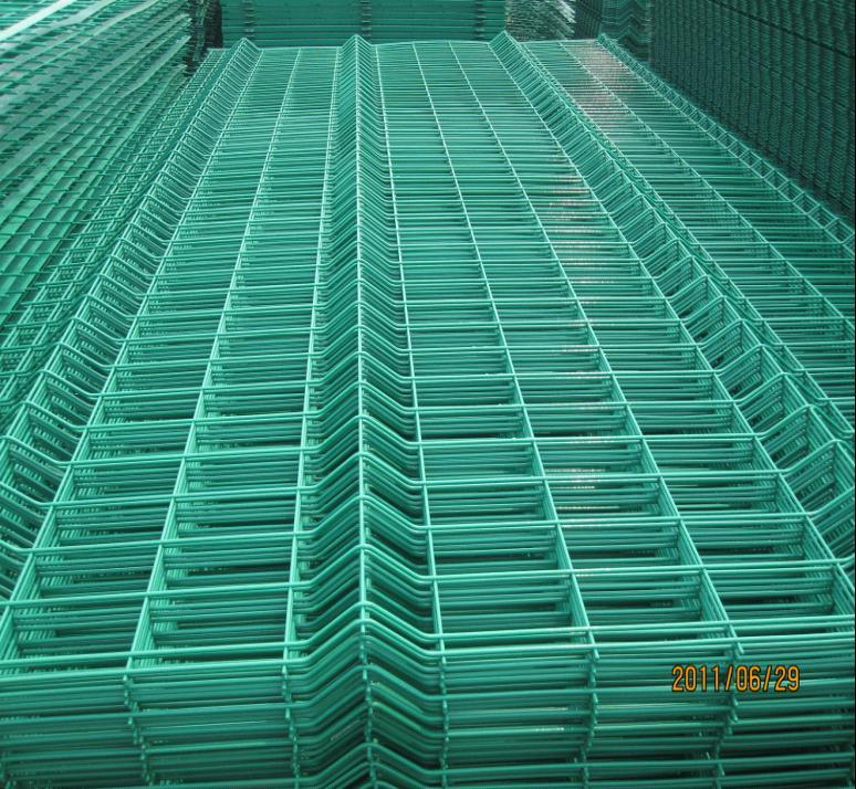 Triangle Bending Fence Panel, Welded Mesh Fence, Garden Fence