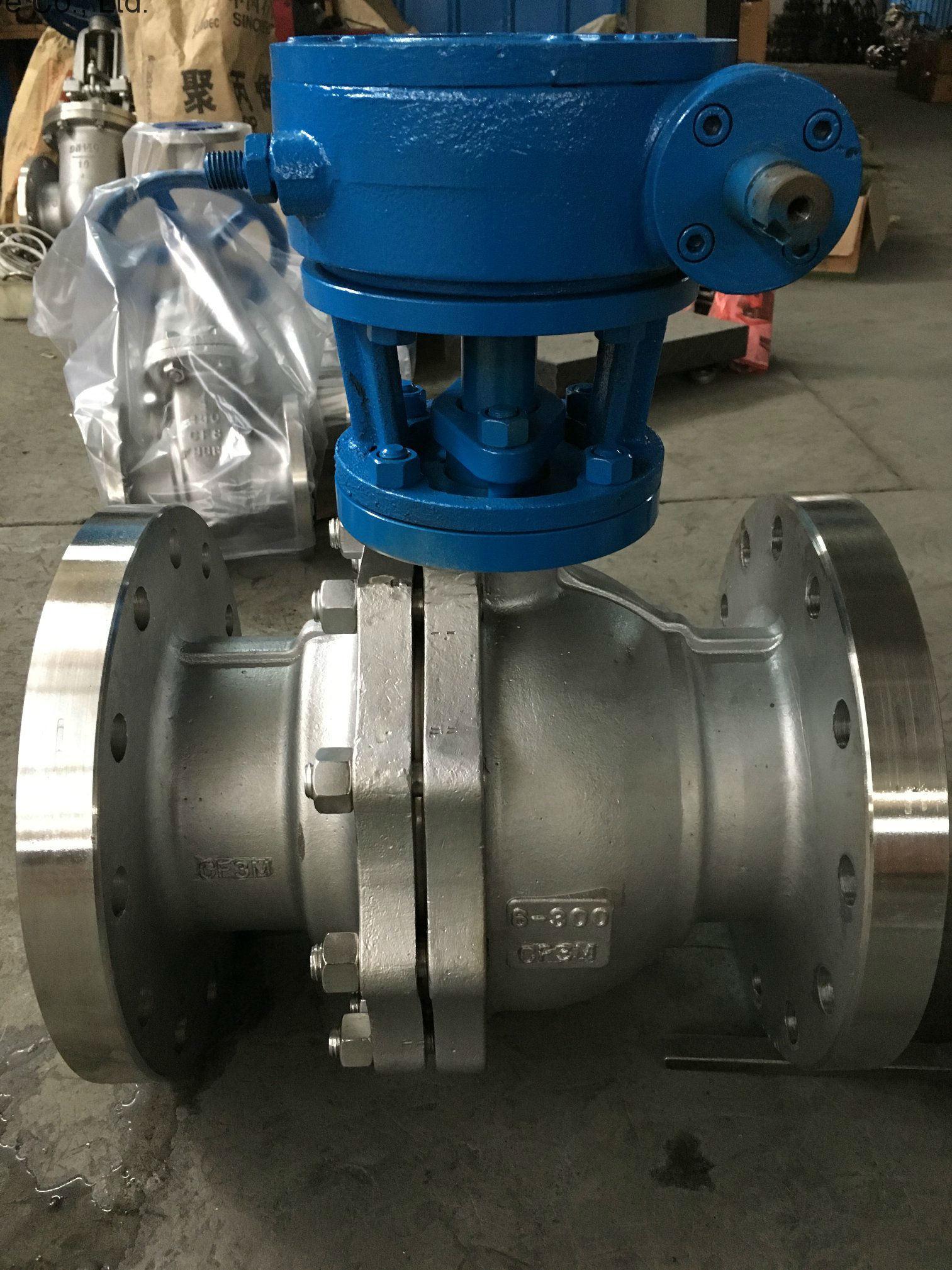 API Stainless Steel Soft Sealing Flange Ball Valve
