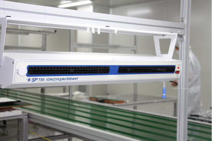 LED Panel Module Belt Conveyor Line-1 in Cleanroom