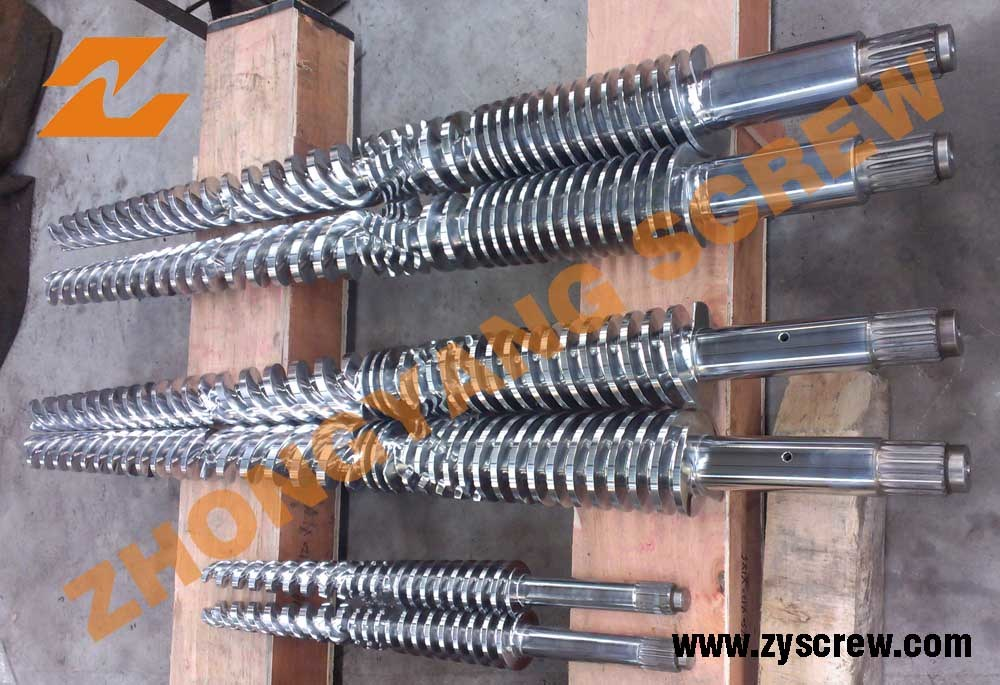 Conical Twin Screw Barrel and Twin Conical Screw Barrel