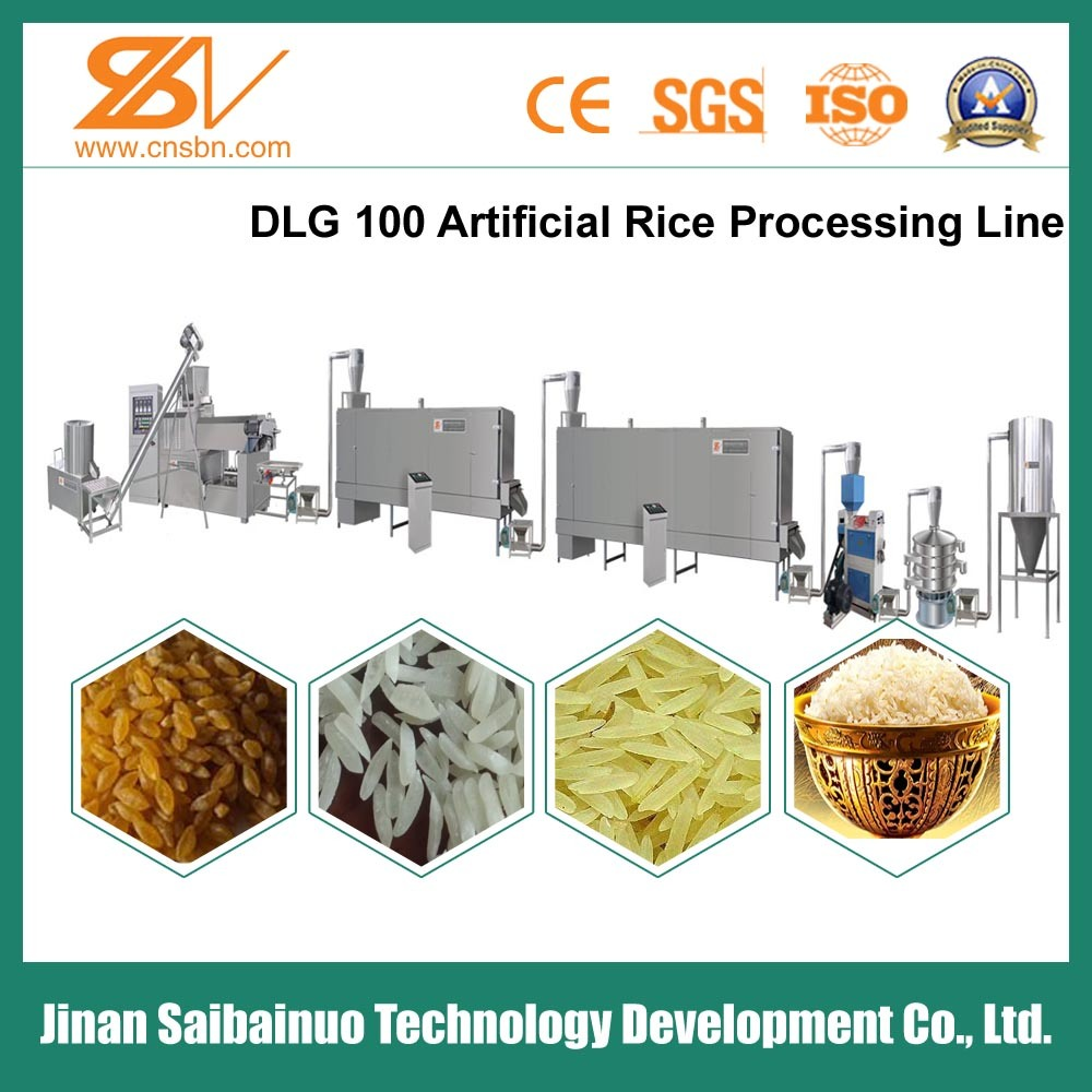 Artificial Rice Production Line/Nutritional Rice Machine/Machinery