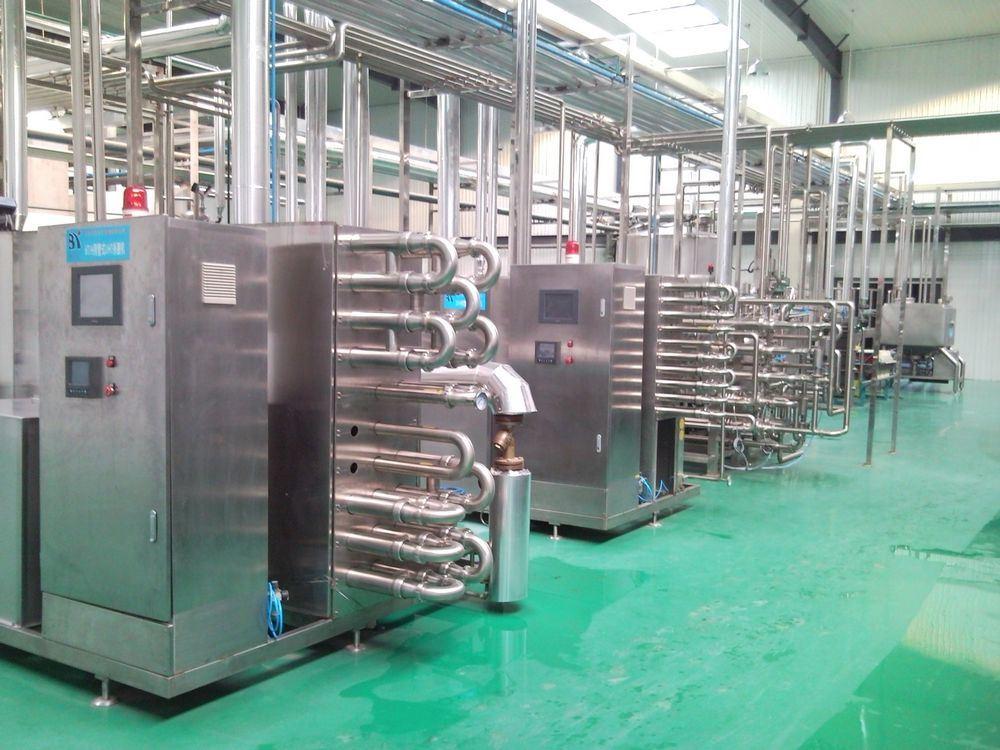 Hot Filling Bottled Fruit Juice Processing Machine (1-40TPH)