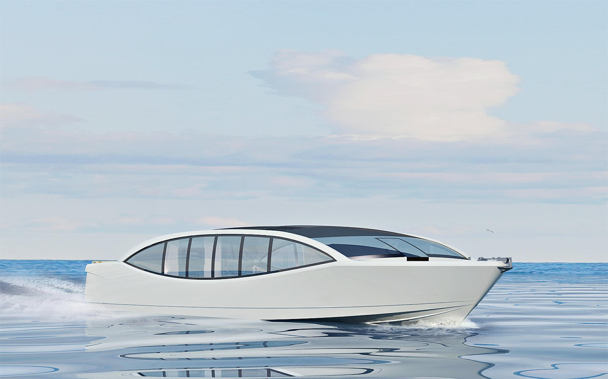 Seastella 53ft Crystal Palace Luxury Commercial Yacht with Solar Energy