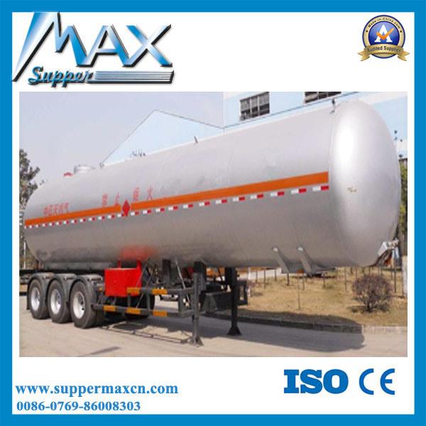 Steel Aluminum Fuel Transport LPG Tank Trailer
