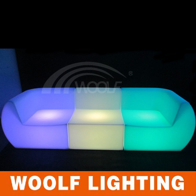 Glow LED Light Modern Cofe Pub Furniture