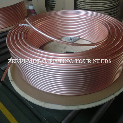 Annealed Level Wound Coil Copper Tube for Heat Exchanger
