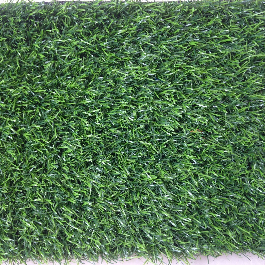 15600tufs/Sqm 25mm Three Color Green Artificial Turf/Grass for Leisure Series