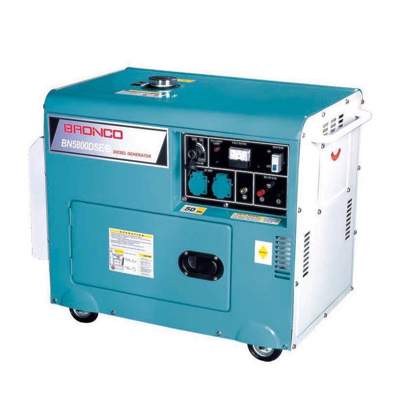 GS, 5kw, Portable Silent Diesel Generator