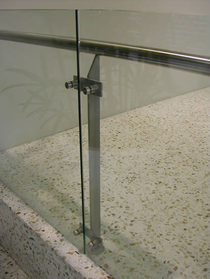 Steel Glass Glass Stainless Steel