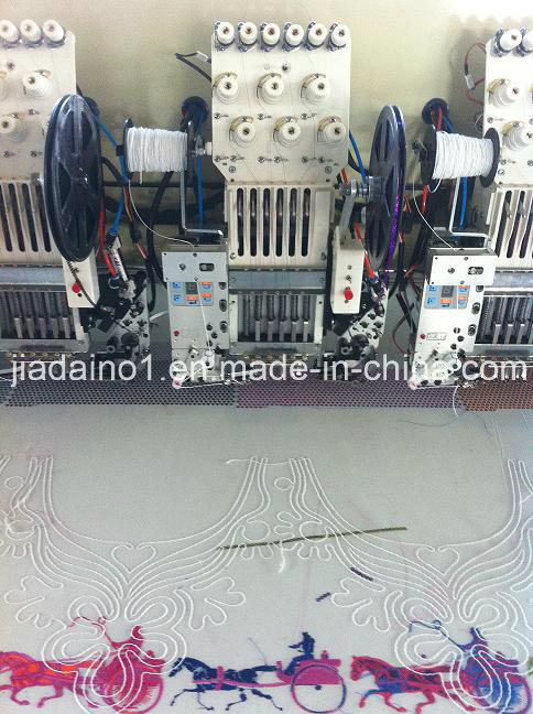36 Head Single Sequin and Coiling Embroidery Machine