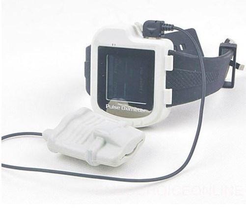 CE&FDA Wrist Pulse Oximeter SpO2 Sensor with Color Display Cms50I