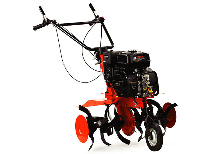 6.5HP 196cc 4-Stroke Agriculture Cultivator Mini Gasoline Power Rotary Tiller