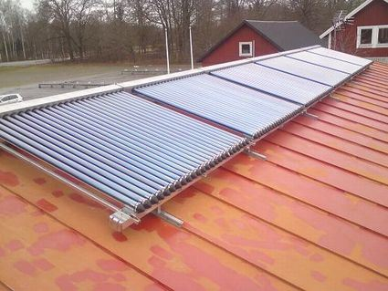 Split Heatpipe High Pressure Solar Collector FTP-58/1800