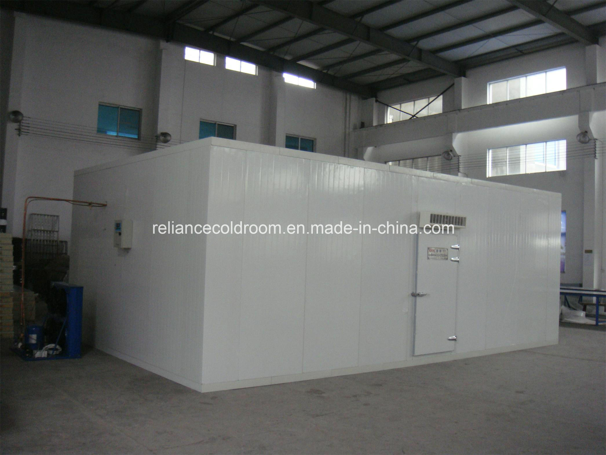 High Density Polyurethane Cold Room for Meat and Fish