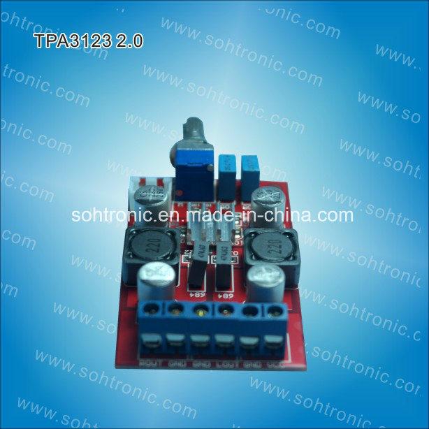 Tpa3123 Class D Mini Digital Amplifier Board 20W+20W