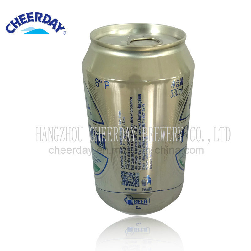 8 Plato Abv3.1% 330ml Cheerday Brand Canned Beer