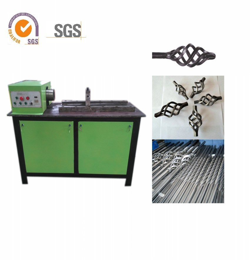 Program Controlled Two in One Torsion and Twist Machine/Wrought Iron Machine