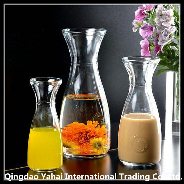350ml / 500ml Glass Bottle with Wide Mouth