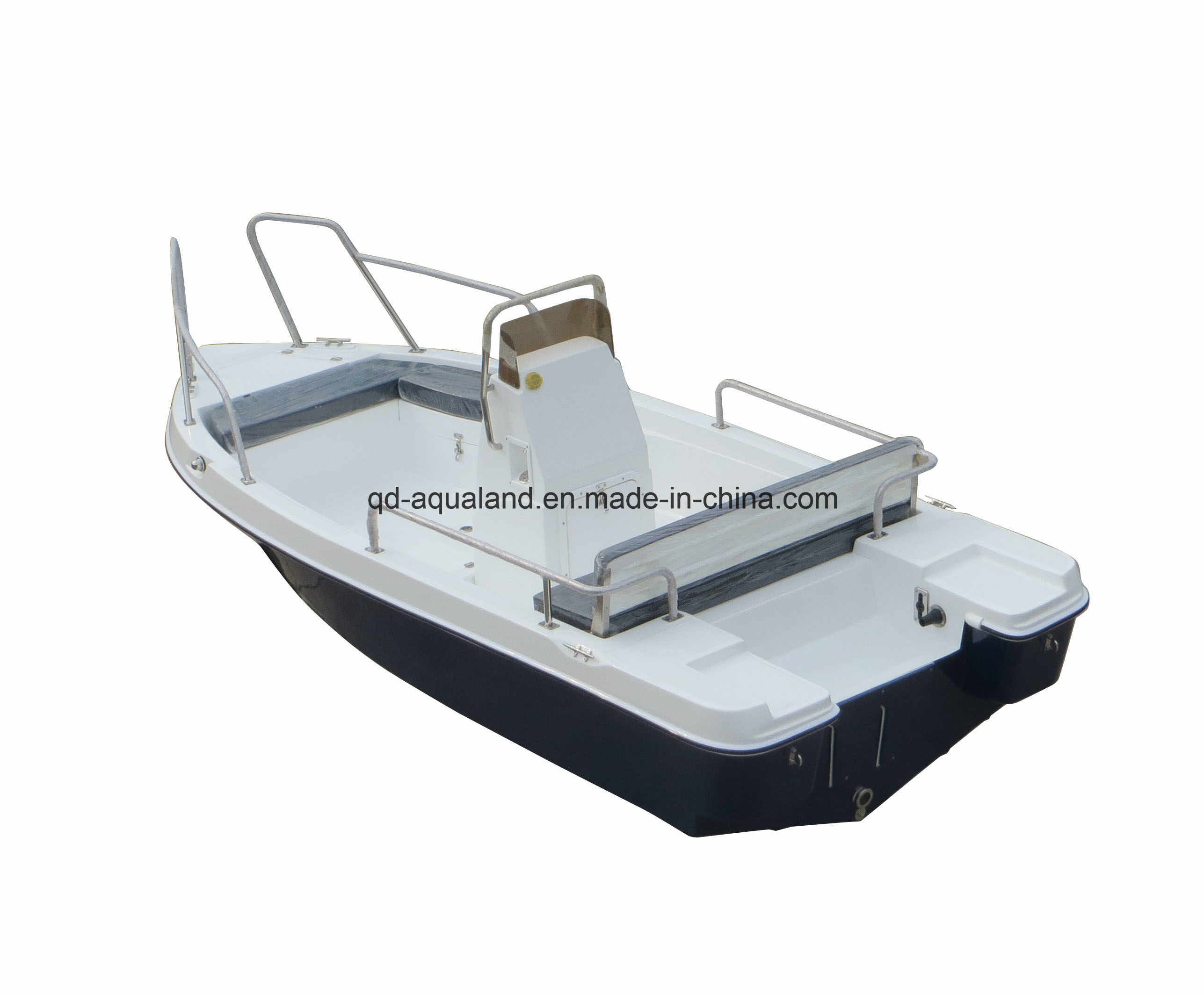 Aqualand 15feet 4.6m Fiberglass Motor Boat/Sports Fishing Boat /Speed Power Boat (150)
