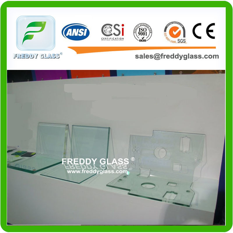 Toughened Glass/Tempered Glass with Polished Edge/Safety Stair Glass/Solar Glass