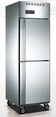 800L Stainless Steel Upright Refrigerator for Food Storage