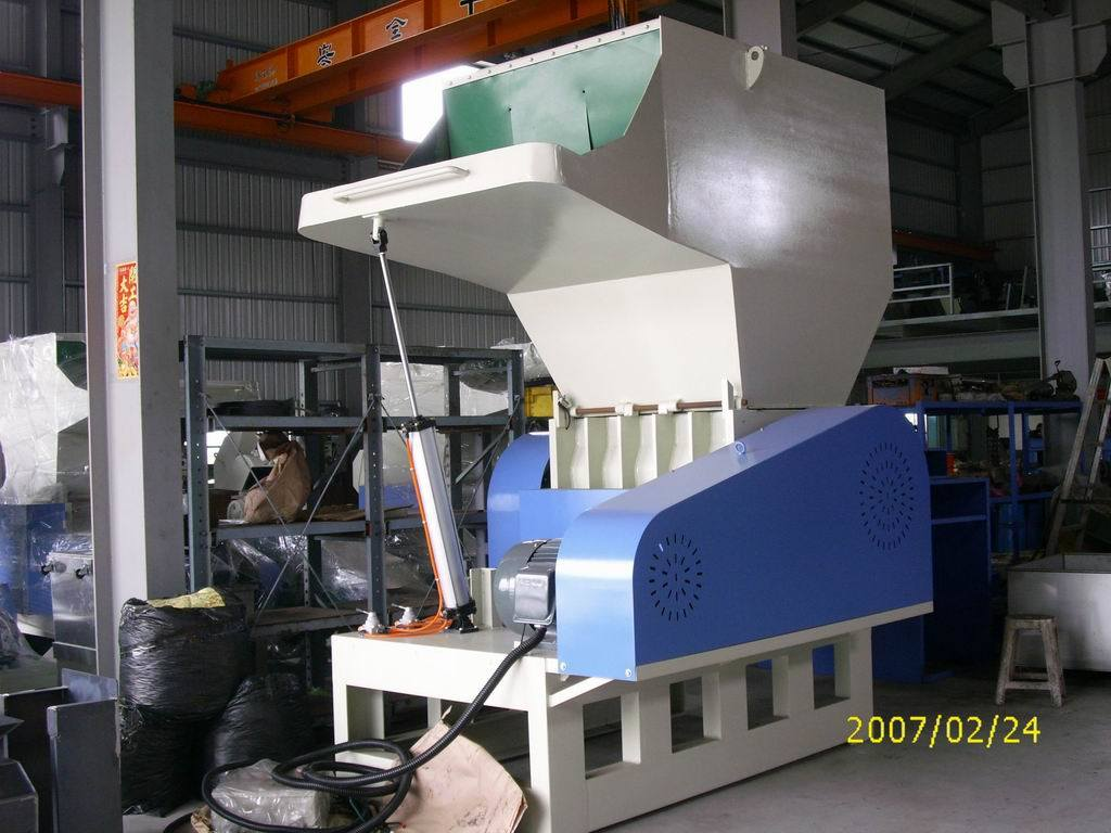 Plastic Crusher/Pipe Shredder/Pipe Crusher